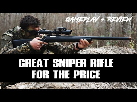 Airsoft Sniper Gameplay Classic Army M24 LTR Review