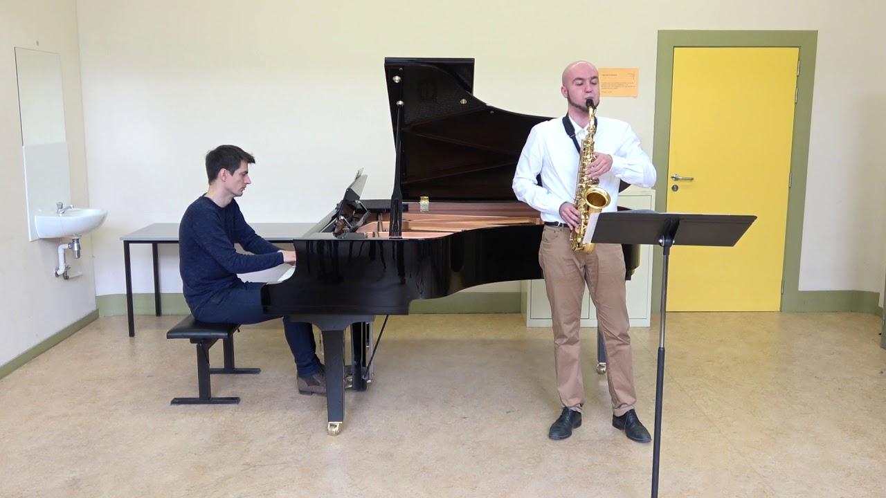 Henri Tomasi saxophone concerto, II mov - Nicola Peretto