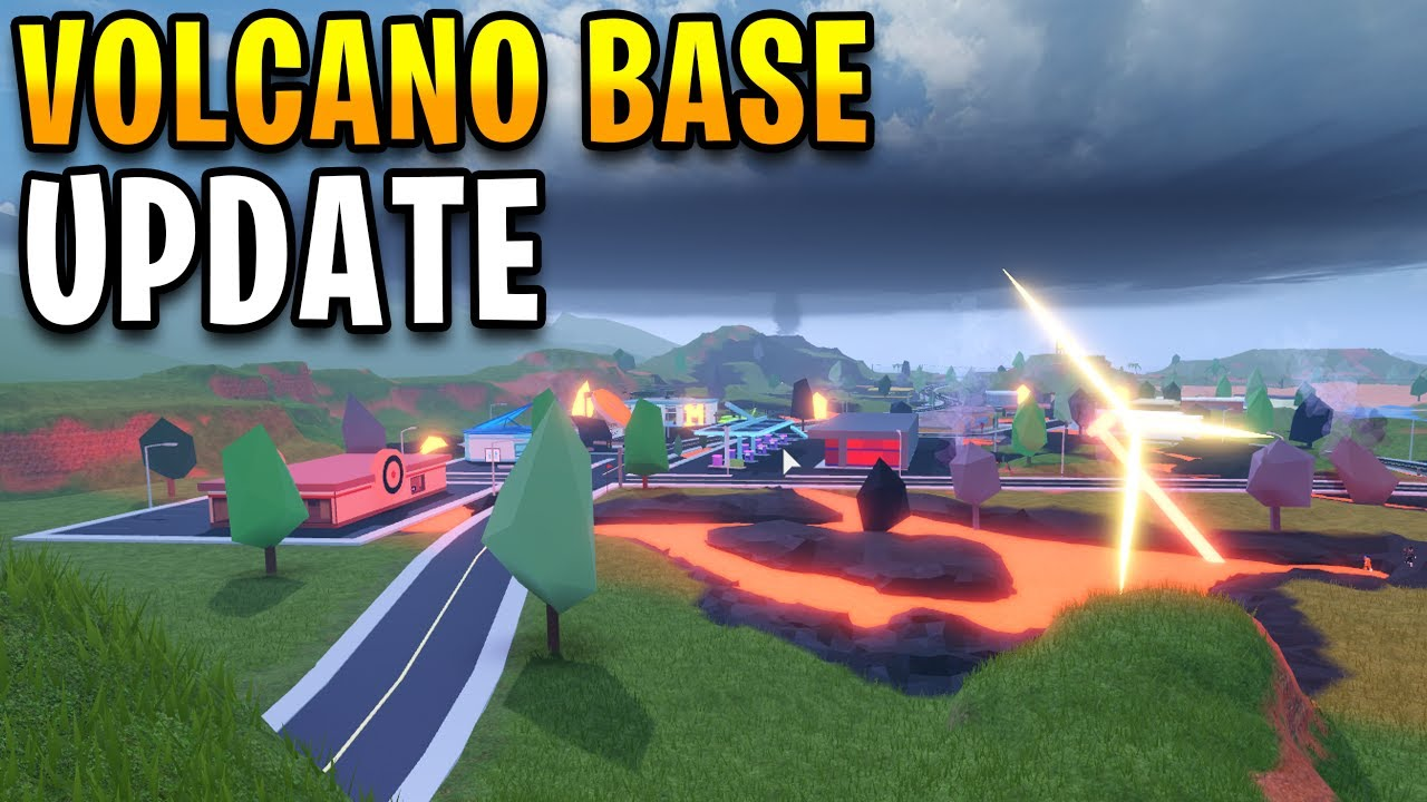 How to get into the *NEW* Volcano Base without 20 Levels! | ROBLOX Jailbreak Winter Map
