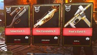 5 HEROIC DLC WEAPONS in 1 OPENING! (COD WW2 HALLOWEEN SCREAM DLC EVENT)