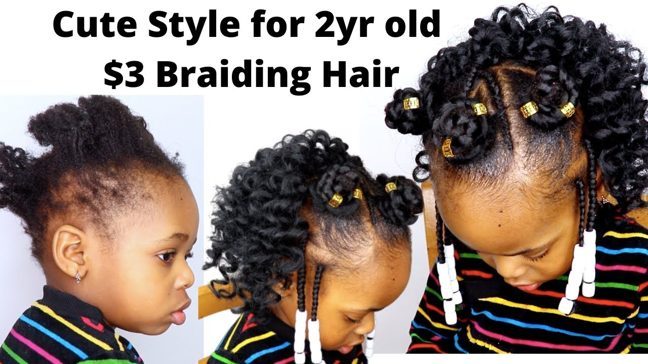 3 Crochet Hairstyle For Kids With Short Hair Toddler Little Black Girls Hairstyle On Short Hair Youtube