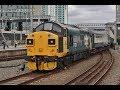 Freight Trains, Rhymney Loco Hauled  & EMU's drag at Newport & Cardiff Central on 22nd July 2019