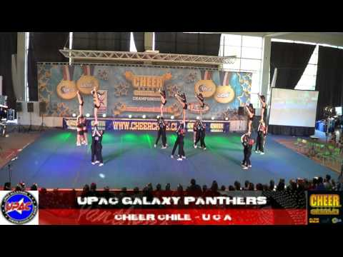 UPAC GALAXY PANTHERS CHEER CHILE