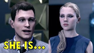 Connor is in Love With Chloe? - All Dialogues - Detroit Become Human