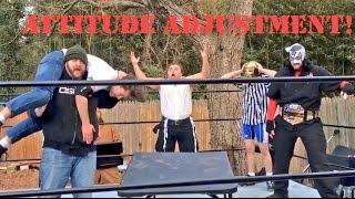 Video BRUTAL WWE MOVES TO NEIGHBORHOOD THIEF! download MP3, 3GP, MP4, WEBM, AVI, FLV November 2017