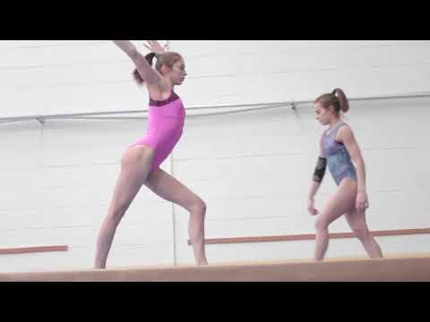 Le ginnaste del CSB in allenamento parte 2