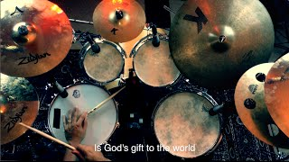 Al Jarreau - God's Gift to the World - Drum Cover by Leandro Caldeira