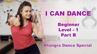 How to dance for Beginners  Aditi teaches easy Bhangra steps