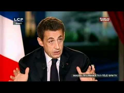 Interview de Nicolas Sarkozy, 29/01/2012