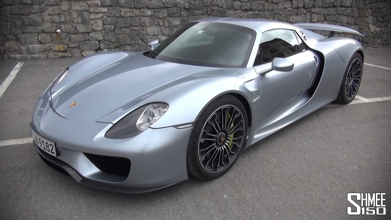 porsche 918 spyder introduction tour and walkaround youtube. Black Bedroom Furniture Sets. Home Design Ideas
