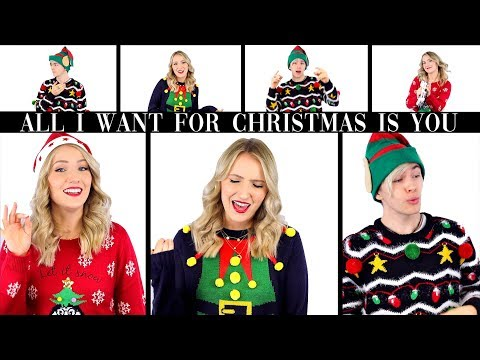 All I Want For Christmas Is You (ACAPELLA COVER) TheBeauty2go feat. Dennis