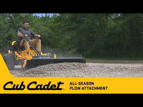 All-Season Plow Attachment Assembly | Ultima Series | Cub Cadet