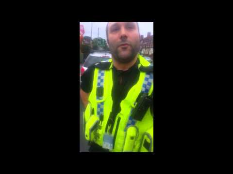 West Yorkshire Police 20 minutes for a traffic ticket PC0580 Assault