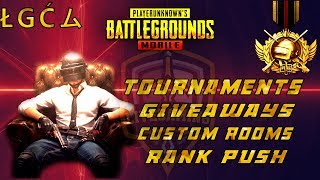 PUBG Mobile Pak/India - Custom Room - UC GiveAway - Tournaments - LIVE Gaming Pakistan