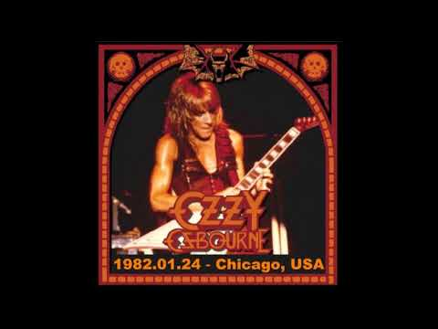 Ozzy Osbourne - Chicago, IL 01-24-82  Full Audio Concert