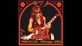 Ozzy Osbourne - Chicago, IL 01-24-82  Full Audio Concert