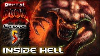brutal doom v20 black metal episode 5 inside hell part 1 3   gameplay walkthrough