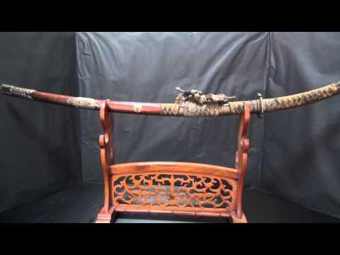 助家 Signed Japanese Tachi Sword