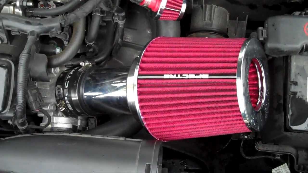 Advance Auto Parts >> 2011 Kia Forte Koup Custom Spectre Short Ram Intake - YouTube