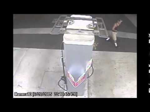 Tire Iron Attack At Gas Station - Seal Beach