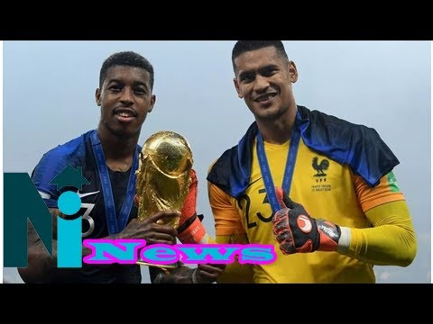 Alphonse Areola wins World Cup with France without a single international cap