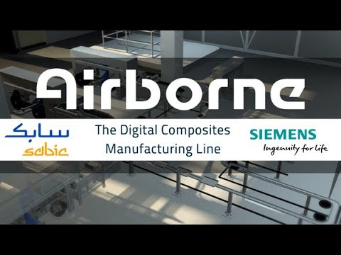 Presenting the Digital Composites Manufacturing Line | JEC 2018 | SABIC  Airborne Siemens