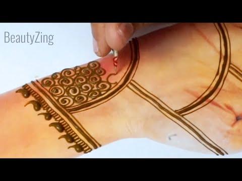 Easy Stylish Full Hand Mehndi Design - New Trick Mehndi Design for Hands 2019 - Easy मेहँदी डिज़ाइन