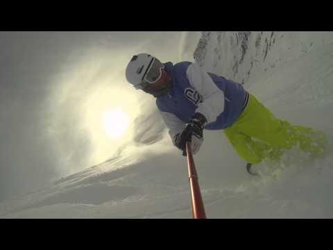Free Ride Snowboard Cervinia Gopro 2015 Gopro Hero 4 black Powder