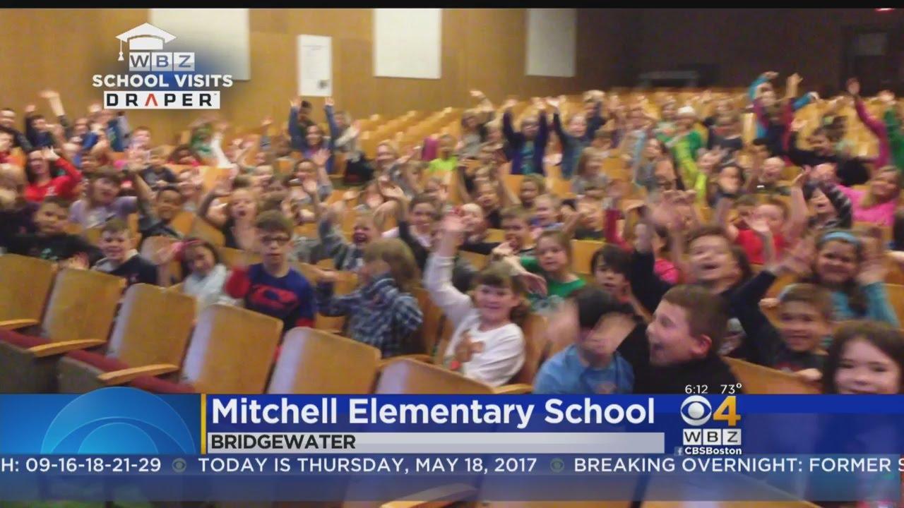 WBZ-TV Weather School Visits: Mitchell Elementary School in Bridgewater, MA