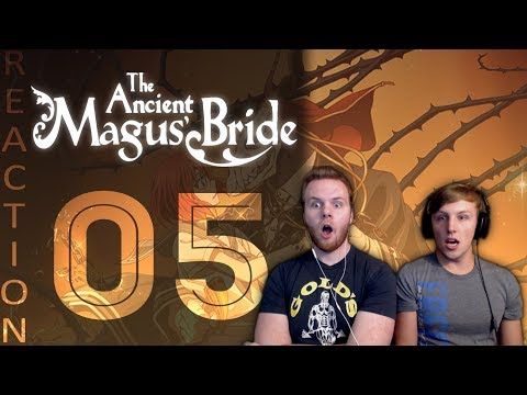 SOS Bros React  Ancient Magus Bride Episode 5  Cute Cats and Curious Corruption!!