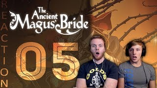 SOS Bros React - Ancient Magus Bride Episode 5 - Cute Cats and Curious Corruption!!