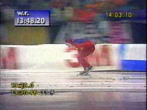 Speed Skating, World Championships 1991 - Johann Olav Koss