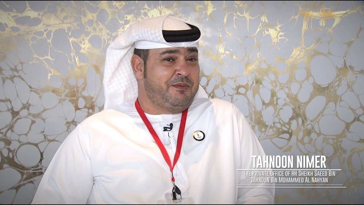 Interview With The Ceo Private Office Of Hh Sheikh Saeed Bin Tahnoon Al Nahayan Tahnoon Nimer Youtube