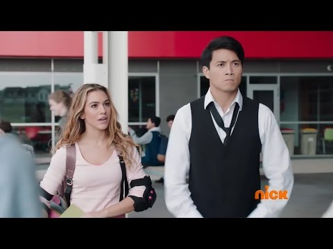 Power Rangers Ninja Steel - Return of the Prism - Sarah and Preston First Scene (Episode 1)
