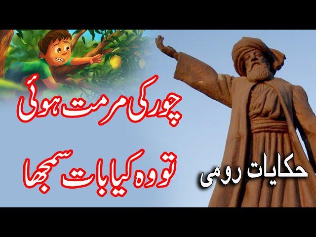 Jalal Uddin Rumi  |   Inspirational Quote | چور مرمت پر کیا بات سمجھا