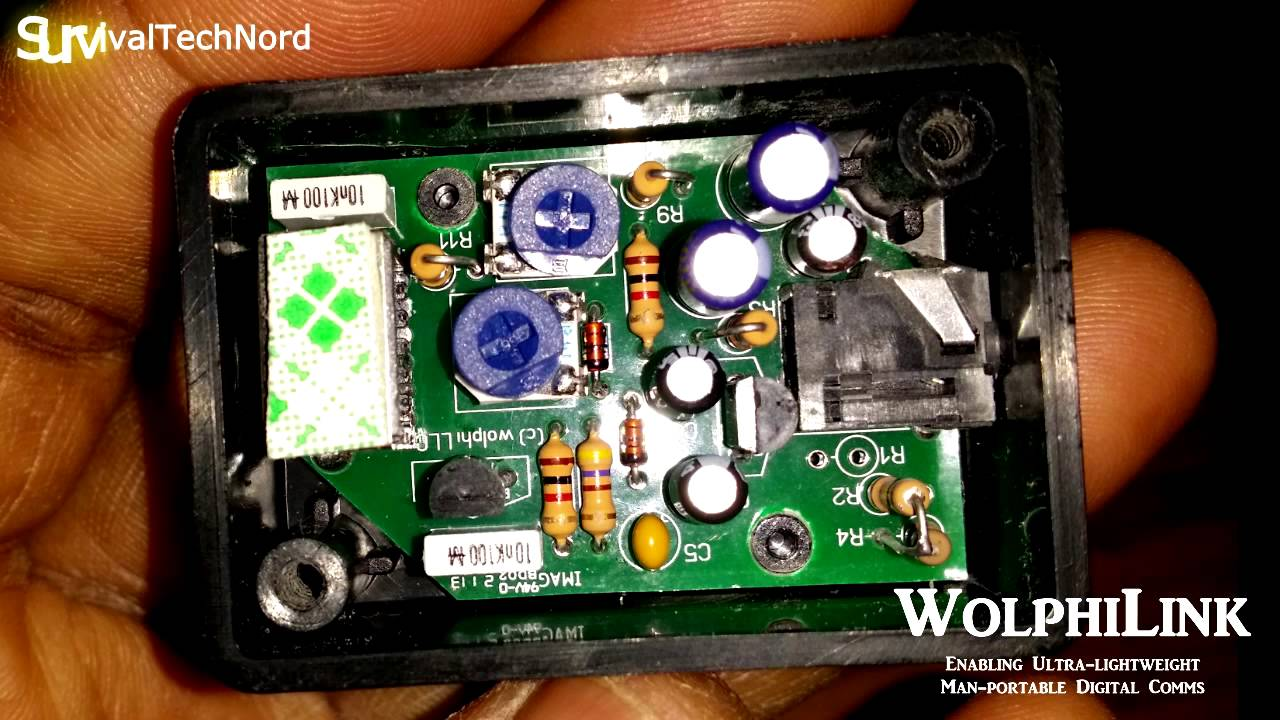 WOLPHILINK Interface for Ham radio Digital Modes on Android PSK SSTV WSPR  RTTY JT65 by OH8STN