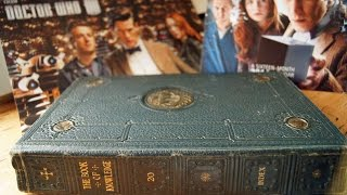 doctor who junk journal video 1 book cover and paper choices