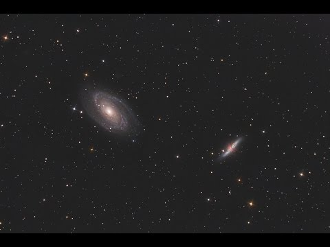M81 M82 Processing Step 1 PixInsight and Photoshop