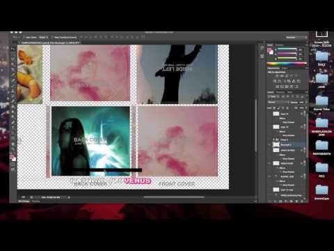 Digipak Editing Process