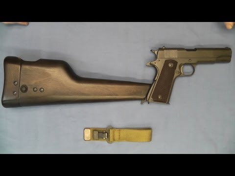 Inglis Shoulder Stock Holster Colt 1911A1 .45 ACP 1911