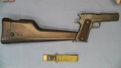 Inglis Shoulder Stock Holster Colt 1911A1 .45 ACP 1911
