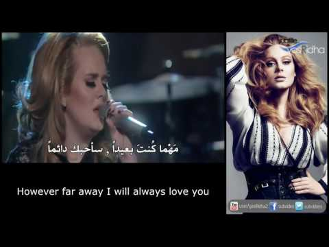 Adele - Lovesong مترجمة