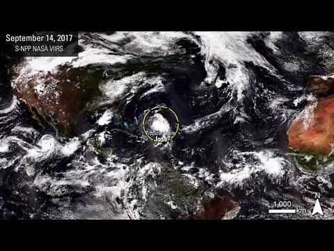 There's a Hurricane A-comin': A View from Space