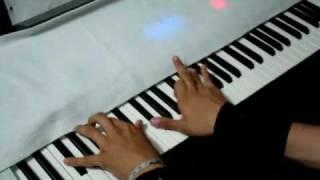 Himno nacional en piano