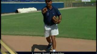 Softball Instruction Infield Fundamentals Part 7 - Fielding back-hand side