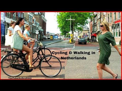 Weekend Cycling & Walking in Netherlands | A Beautiful Dutch City for Touring & Exploring