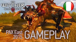 The Witcher 3: Wild Hunt - PS4/XB1/STEAM - Gameplay (PAX East 2015 Italian Trailer)