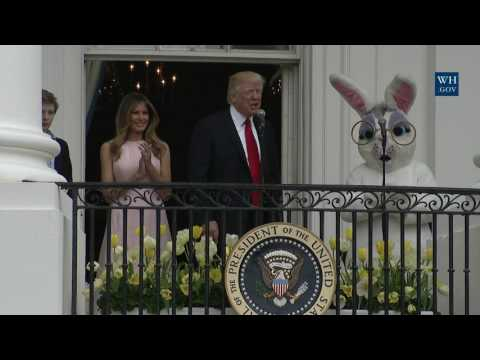 Thumbnail: President Trump Participates in the White House Easter Egg Roll