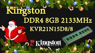 DDR4 KVR21N15D8/8 - Обзор и распаковка оперативной памяти(, 2016-12-17T15:20:40.000Z)