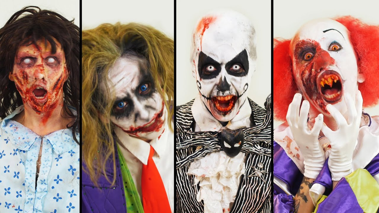 Halloween Looks Scary.4 Halloween Looks That Are Scary Af
